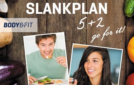Test het Body&Fit slankplan 5+2, bye kilo's!