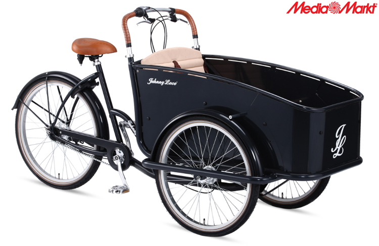 Test de Johnny Loco de Cargo e-bike Bakfiets