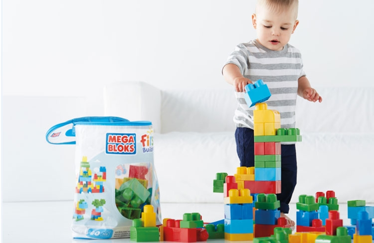 Test de First Builders van Mega Bloks