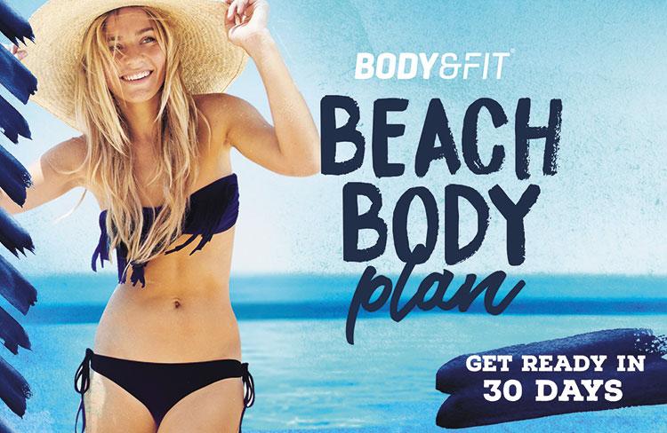 Test het Body&Fit Beach Body Plan