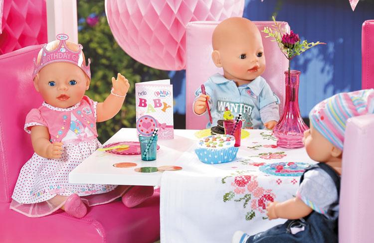 Test de nieuwe BABY born producten