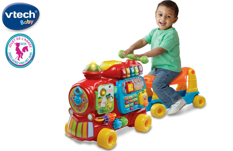 Test de 5 in 1 Letter Locomotief t.w.v. €59,95
