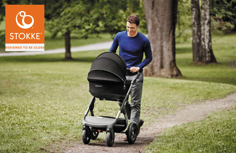 Test de Stokke® Trailz™ kinderwagen